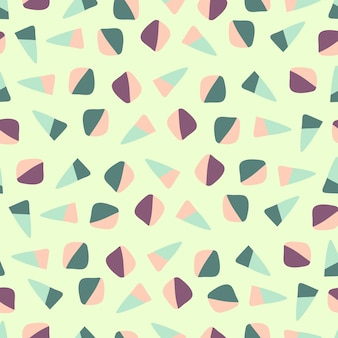 Seamless colorful confetti candy pattern  background