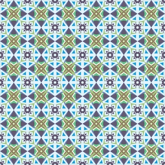 Seamless  colorful tile pattern