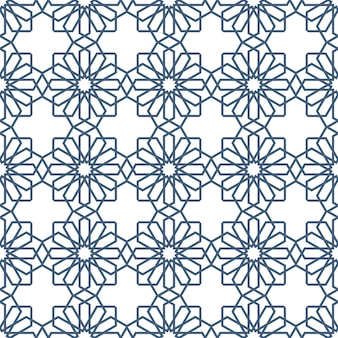 Seamless delicate seamless pattern in arabian style