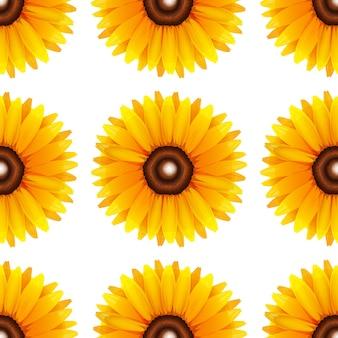 흰색 절연 원활한 디자인 패턴