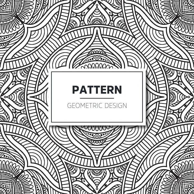 원활한 민족과 부족 패턴