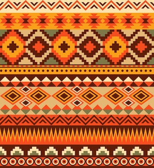 Seamless ethnic aztec pattern design.