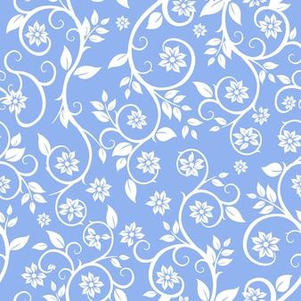 Бесшовные цветочные абстрактный узор модные пастельные фон фон баннера красивые украшения декоративные