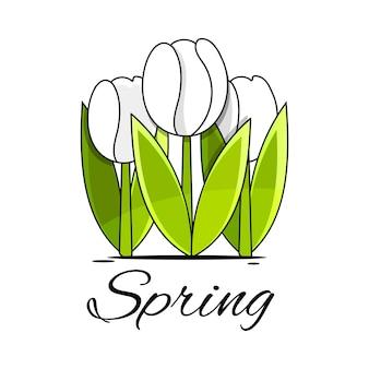흰색 바탕에 장미와 나비와 함께 완벽 한 꽃 테두리