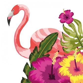 Мультяшный цветочный узор