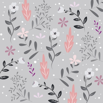 Seamless floral pattern or texture