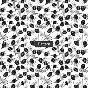 완벽 한 꽃 패턴입니다.