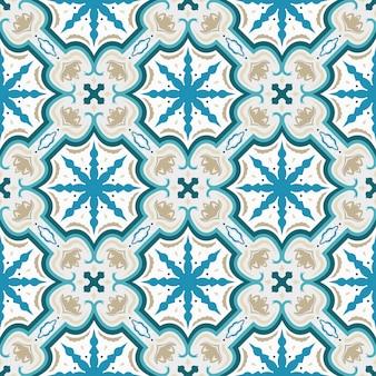 완벽 한 기하학적 풍의 동양 패턴입니다.
