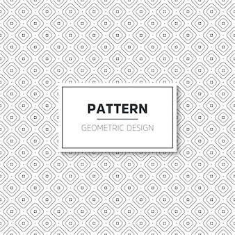완벽 한 기하학적 흑백 패턴