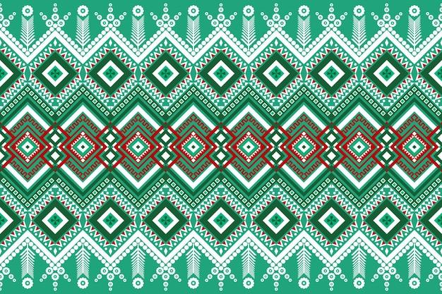 テクスチャと背景のシームレスな幾何学的な民族アジアの東洋と伝統のパターンデザイン。カーペット、衣類、ラッピング、クリスマスの壁紙用のシルクとファブリックのパターン装飾。