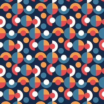 Бесшовный геометрический узор заводной текстуры