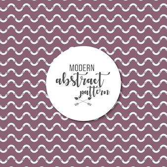 Seamless geometric modern abstract pattern background