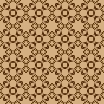 Seamless geometric ornament based on traditional arabic art
