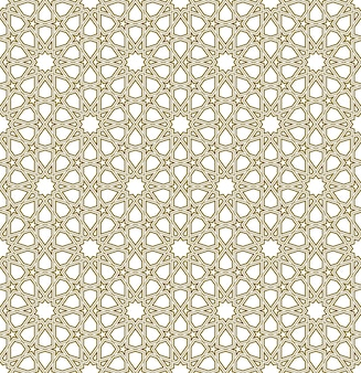 Seamless geometric ornament based on traditional islamic art.
