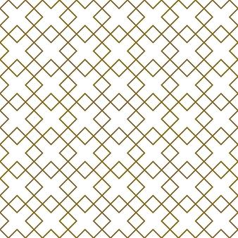 シームレスな幾何学的な装飾。茶色の色の線。ファブリック、テキスタイル、カバー、包装紙、背景に最適なデザイン。細い線。