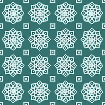 Seamless geometric pattern of abstract simple shapes and lines