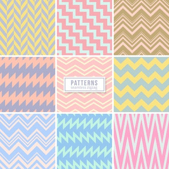 Seamless geometric pattern collection