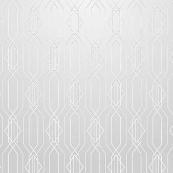 Seamless geometric pattern on a gray background vector