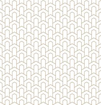 アールデコスタイルのシームレスな幾何学模様。
