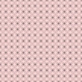 モノクロ要素で作られたシームレスな幾何学模様