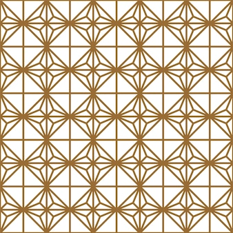 Seamless geometric pattern. thick lines. brown and white.