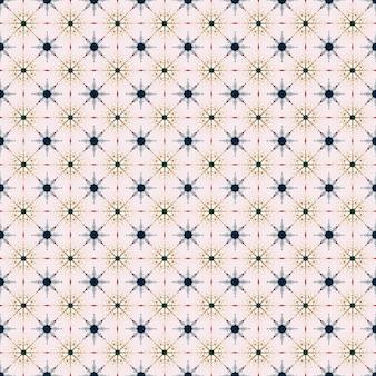 완벽 한 기하학적 패턴 겨울 흰색 배경