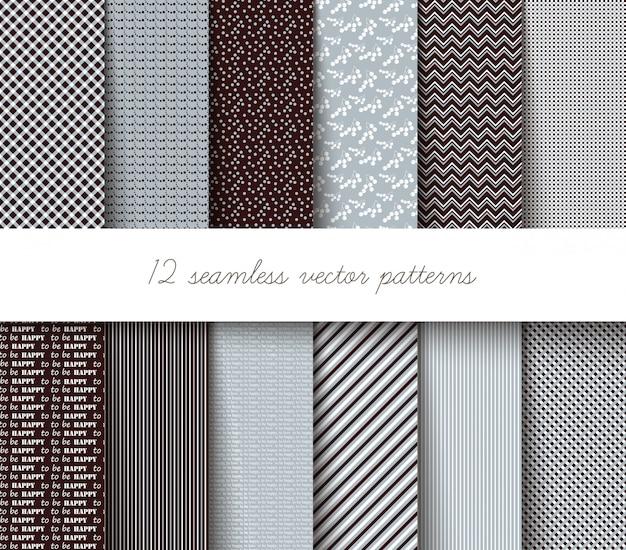 Seamless geometric patterns