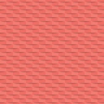 シームレスな幾何学的なピンクのバナー。図。