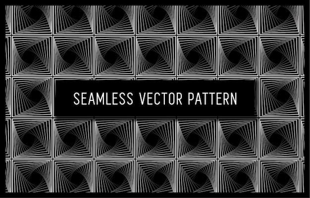シームレスな幾何学的な織りパターン