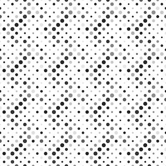 Seamless geometrical gray dot pattern background design