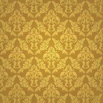 Seamless gold pattern