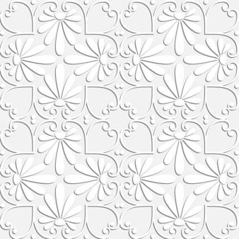 Seamless greek floral pattern