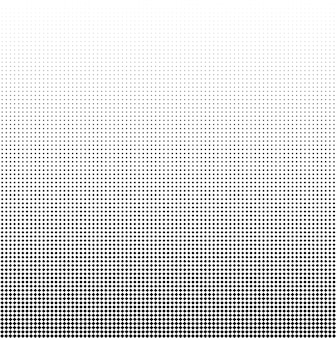 Seamless halftone vector backgroundfilled with black squares 82 figures in height