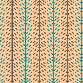 Seamless herringbone chevron style with vintage colors