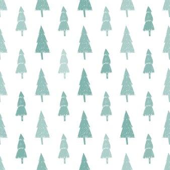 森とプレゼントとのシームレスな休日のパターン