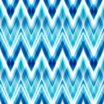 シームレスな絣のエスニックパターン。自由奔放に生きるデザイン。エスニックカラーのシームレスジグザグパッテン