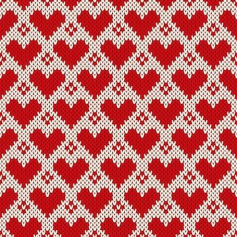 마음으로 원활한 니트 패턴