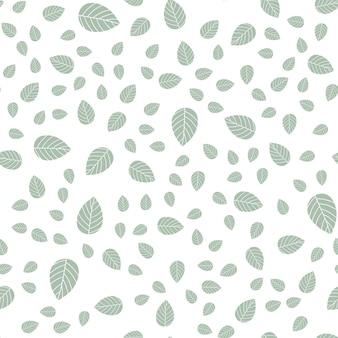 シームレスな葉のパターン