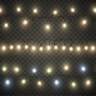 Seamless light garland
