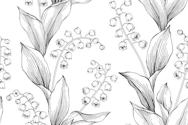 Lily Of The Valley Vectors Photos And Psd Files Free Download