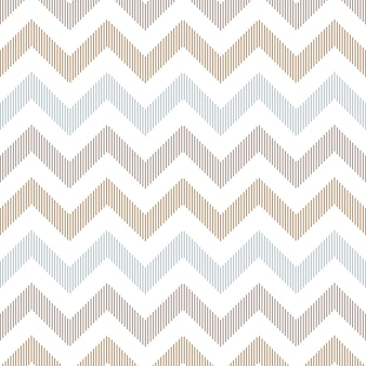 Seamless Linear Zigzag Background