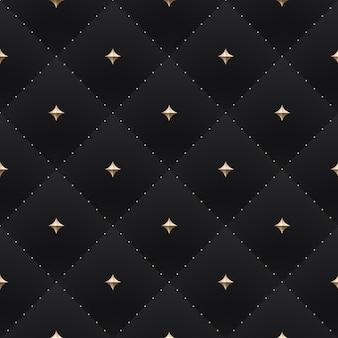Seamless luxury dark black pattern