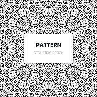 Seamless mandala pattern.