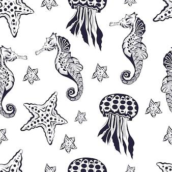シームレスな海洋パターン