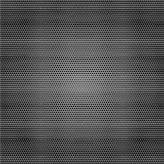 Seamless metal surface, perforated sheet.