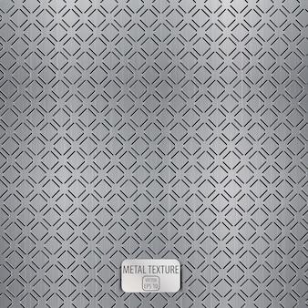 Бесшовные металлические текстуры фона.