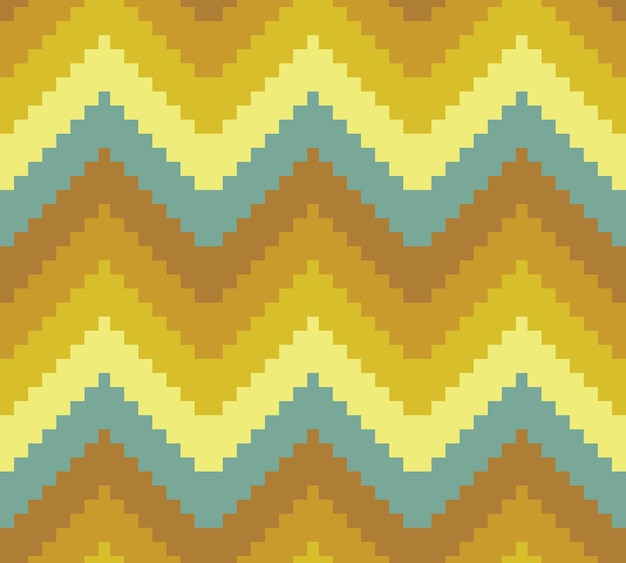 Seamless modern chevron zig zag pattern background