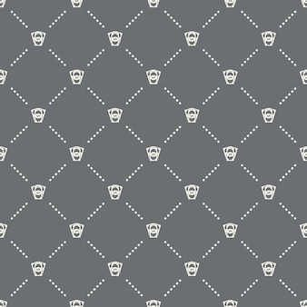 Seamless money pattern on a dark background. money icon creative design. can be used for wallpaper, web page background, textile, print ui/ux