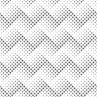 Seamless monochrome abstract star pattern background