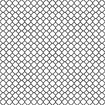 シームレスなモノクロ対角線の四角い格子パターンの背景 - ベクトルグラフィックデザイン